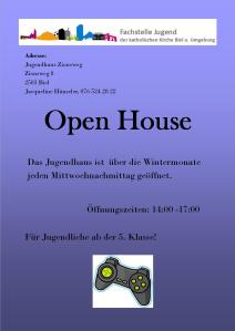 Flyer Open House