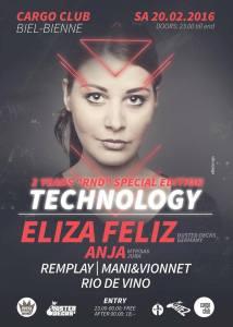 Flyer Rednight District- Technology 20.02.2016
